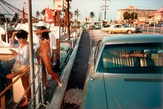 Credit: Joel Meyerowitz/Phaidon Florida, 1965 'The world was in colour. It was just obvious to me. I had no idea people were snobbish about colour. To me, black and white just seemed historical.'