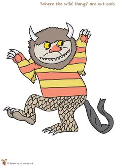 Teacher's Pet - Where the Wild Things Are Cut Outs - FREE Classroom Display Resource - EYFS, monster, monsters, story, stories Primary Teaching, Primary Classroom, Classroom Themes, Teaching Resources, Wild One Birthday Party, Boy Birthday, Preschool Open Houses, Directed Drawing, School Hallways