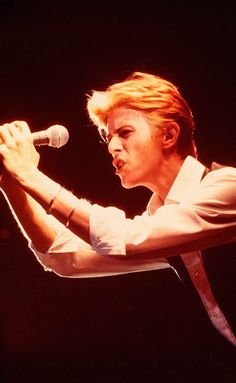 David Bowie, 1976, by Andrew Kent