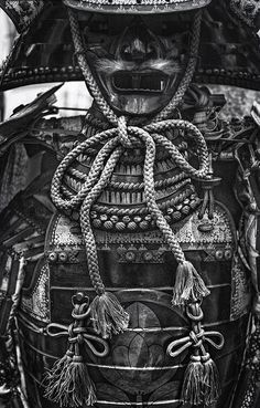 Phantom Warrior 2 (BW Film Noir) by Jon Sheer on Suit of samurai armor for sale at the flea market outside of the Tokyo International Forum in Yurakucho, Tokyo, Japan. A manly man's suit of samurai armor! Kendo, Japanese Culture, Japanese Art, Japanese Dragon, Japanese Style, Samourai Tattoo, Armor For Sale, Samurai Artwork, Japanese Warrior