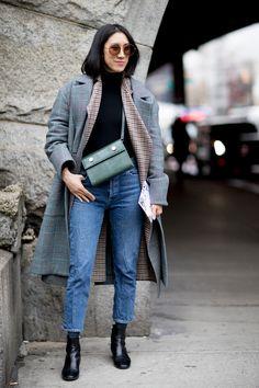 New York Fashion Week Street Style Fall 2018 Day 2 - The Impression