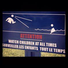 Watch kids.