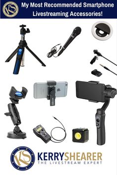 Livestreams and smartphone videos look and sound SO much better with great audio, a steady shot, and good lighting!