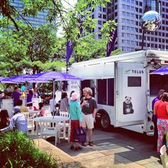Thirsty #Toronto? Come refresh on our patio at the @Luminato Festival Hub. PLUS, free giveaways up for grabs! @TELUS ...