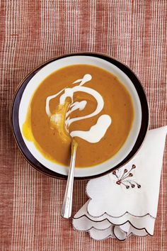 Green-skinned calabaza pumpkins, fiery Scotch bonnet peppers, and plenty of herbs and spices vividly flavor this Caribbean pumpkin soup. See the recipe »
