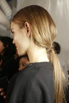 Backstage at Milly by Michelle Smith RTW Fall 2013