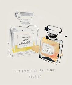 Illustration - Chanel