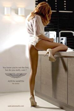 You know you're not the first, but do you really care? - Aston Martin (Pre Owned)