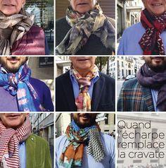 écharpe en cravate Victoire