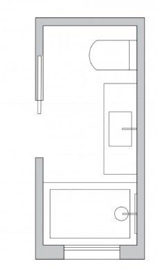 Small bathroom layout ideas from an architect for maximum space use. Modern Bathroom Designs For Small Spaces