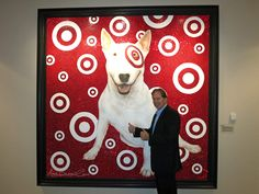An incredible day at Target Stores headquarters... even met Bulls-eye the doggie!