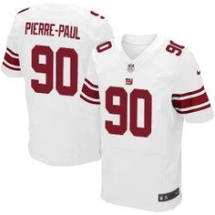 Shop for OfficialNFL Mens Elite Nike New York Giants #90 Jason Pierre-Paul White Jersey. Get Same Day Shipping at NFL New York Giants Team Store. Size S, M,L, 2X, 3X, 4X, 5X.$129.99