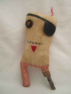 Handmade grungy Peg-leg Pirate (Percy Adams)  @Allison j.d.m Fratelli