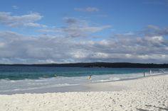 "Hyams Beach, ""World's whitest beach"" in Jervis Bay, Australia."
