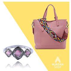 Náramok s mačacím okom a trendy kabelka #bizuteria #pinkbag #antialertickabizuteria #luxusnabizuteria #ruzovakabelka Pink, Pink Hair, Roses