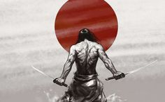 Samurai Japan - The iPhone Wallpapers Japanese Artwork, Japanese Tattoo Art, The Sword, Samurai Wallpaper, Warriors Wallpaper, Samurai Artwork, Japanese Warrior, Samurai Warrior, Fantasy Samurai