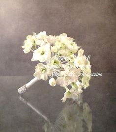 wedding bouquet 2014 Angelica Lacarbonara