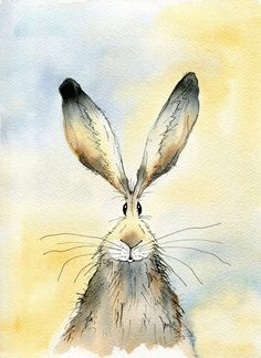 Limited edition print  Paddy the Hare hare print