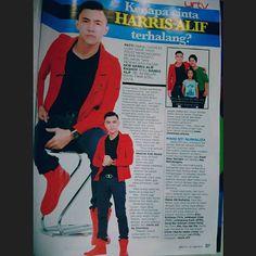 Harris Alif dlm majalah @urtv Kenapa Cinta Harris Terhalang ? #HarrisAlif