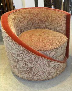 Add Art Deco Furniture to Create an Impression of Elegance: Art . Art Deco Chair, Art Deco Furniture, Unique Furniture, Plywood Furniture, Art Deco Stil, Art Deco Home, Art Nouveau, Silla Art Deco, Art Et Architecture