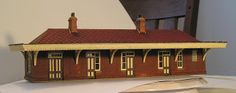 Laser Cut Wood Kit of a GWR Station Following on from the last post, I have completed the subject kit.  It comes in smallish bottles, similar to those used for cyano, but it seems to be unheard of here. I used cyano, contact cement, PVA and Yellow glue as the need presented itself.