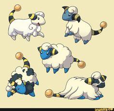 pokemon variations mareep