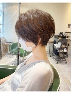 Asian Short Hair, Short Hair Cuts, Short Hair Styles, Short Hairstyles For Women, Bob Hairstyles, Gorgeous Hair, Beautiful, Look Chic, Hair Dos