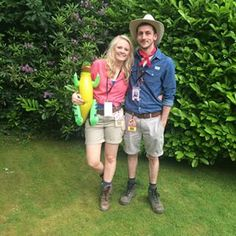 Ellie Sattler and Alan Grant from Jurassic Park | 23 Couples Costumes That Will Give You Relationship Goals