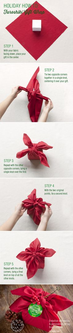Create the ~illusion~ of craftiness with some of these simple gift-wrapping tips and tricks.