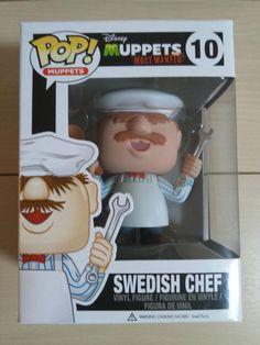 Funko Pop Disney Muppets Most Wanted SWEDISH CHEF Vinyl New In Box