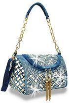 c9ad7952e6 Beautiful and unique denim rhinestone handbags available exclusively at Monica s  Closet