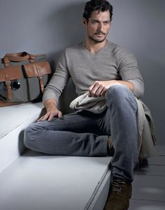 "mensfashionworld: ""David Gandy for The Sunday Telegraph """