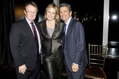 Phoenix House's Howard P. Meitiner, Mitchell S. Rosenthall, and emcee Ali Wentworth at our Fashion Award Dinner