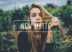 New Matte LR Preset [Indie Muse]  @creativework247