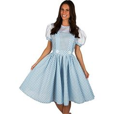 Adult Dorothy Wizard of Oz Dress Costume (Medium Adult)  #Adult #Costume #Dorothy #Dress #Medium #Wizard #WomensHalloweenCostumes Halloween Spirit