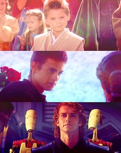 Anakin Skywalker - Episodes I, II, & III Ugh he is so beautiful!!