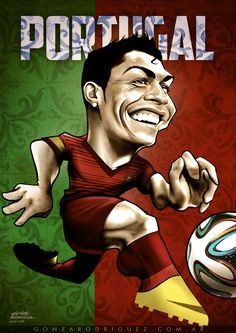Brasil 2014 Caricatures posters on Behance