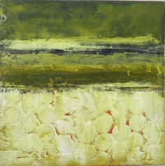 Oil and cold wax by Dayna J. Collins. http://www.alleyartstudio.com