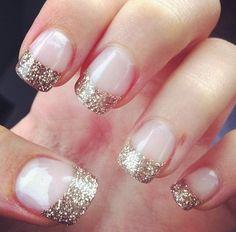 Perfect NYE nails!