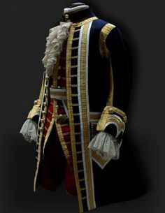 French court hunting suit, Christian 7th, Denmark – copy