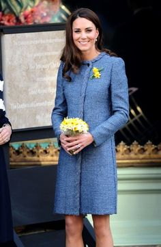 Catherine, Duchess of Cambridge visits Fortnum & Mason store on March 1, 2012 in London, England.