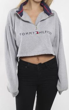 Vintage Tommy Hilfiger Crop Knit Sweater                                                                                                                                                                                 More