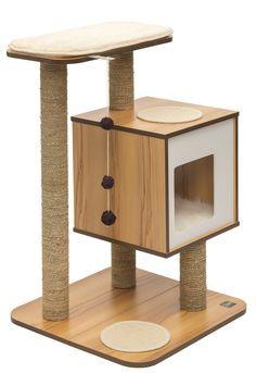 Vesper Cat Furniture Cat Tree Without Carpet