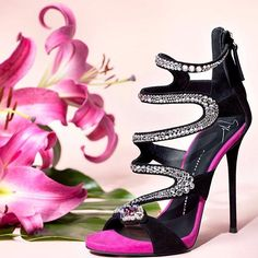 Giuseppe Zanotti 'Marion' Crystal Heels #giuseppezanottiheelsfun