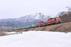 東日本大震災で磐越西線経由で郡山に燃料を送った石油列車。鉄道員魂の結晶。