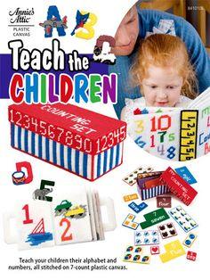 Plastic Canvas - Toy & Game Patterns - Teach The Children