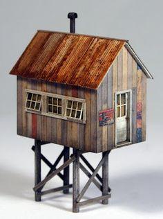 Miniature Houses, Ho Scale, Comfort Zone, Model Trains, Scale Models, Home Art, Horses, Modeling, Art Houses