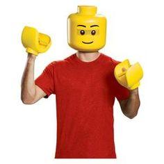 72396052c1 Halloween Adult Lego Yellow Brick Halloween Costume