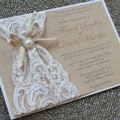 Fabulous Diy Lace Wedding Invitation Kits with Diy Lace Wedding Invitation Kits Ideas for Your Cards