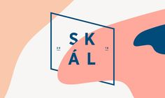 Skál! That's Icelandic for cheers! The Design of this fictitious Nordic beer branding was inspired by a journey through Iceland and the astonishing natural landscape of Landmannalaugur with its wide variety of shapes and colors.